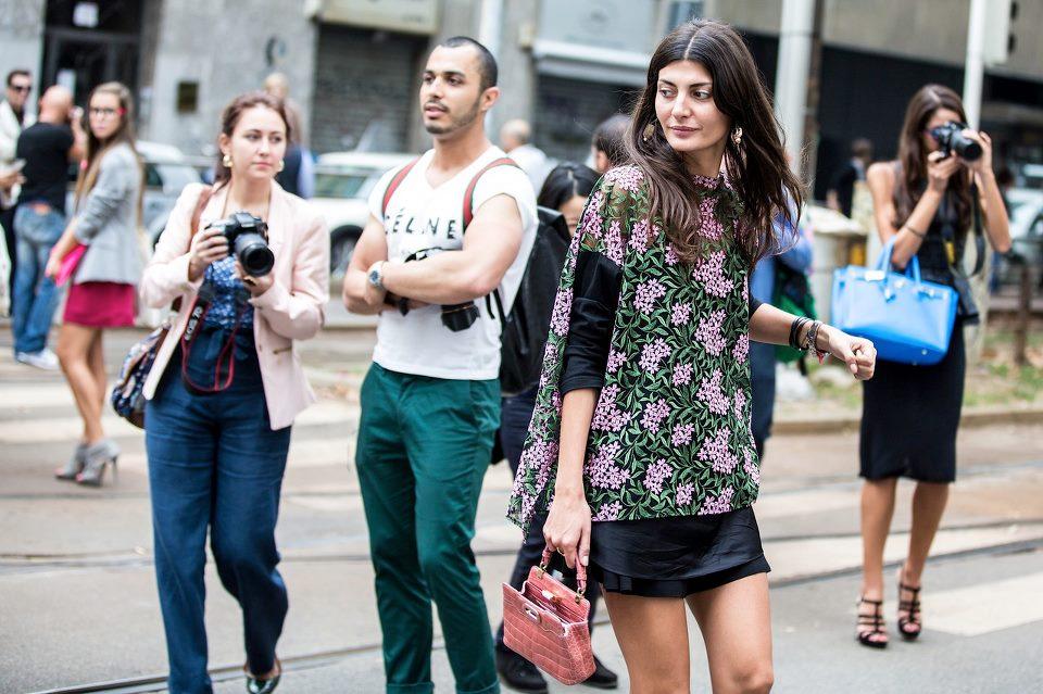 Џована е ѕвезда на модните блогови за улична мода