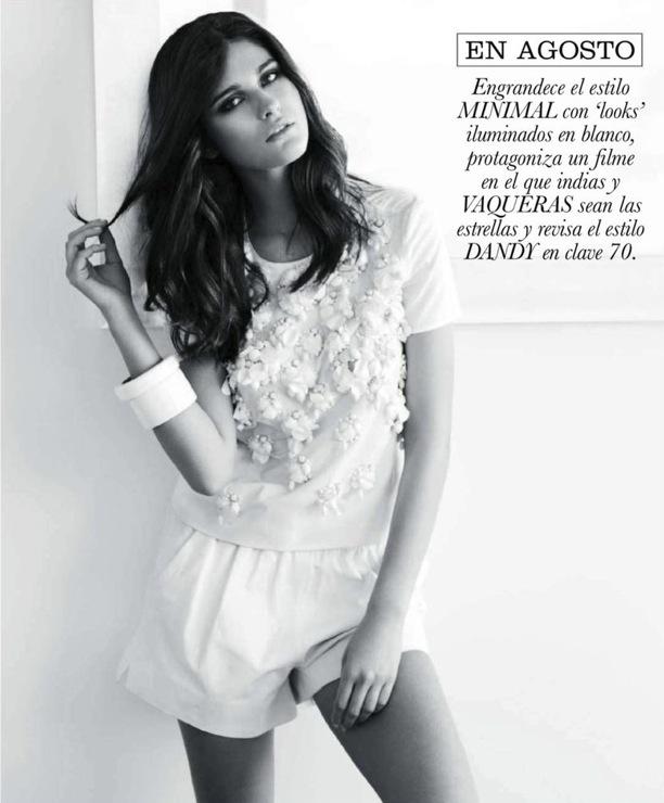 Фотосесија со Патрик Демаршелие за шпански  Elle