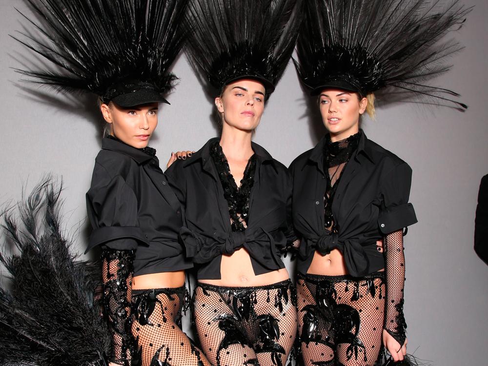 """Од колекцијата за пролет-лето 2014 на """"Лун Витон"""", последната на Џејкобс за париската модна куќа"""
