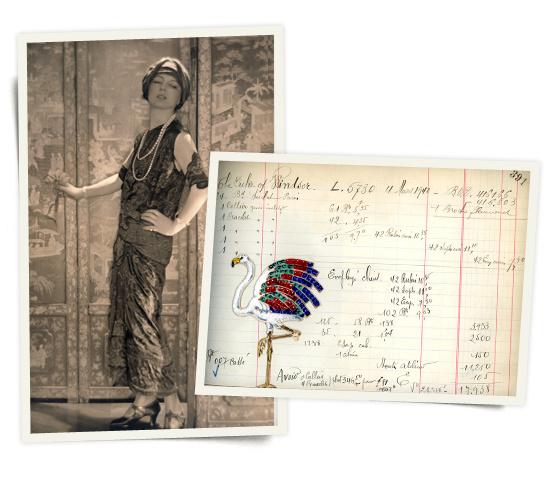 Легендарната Жан Тусан и скицата за брошот на Валис Симпсон