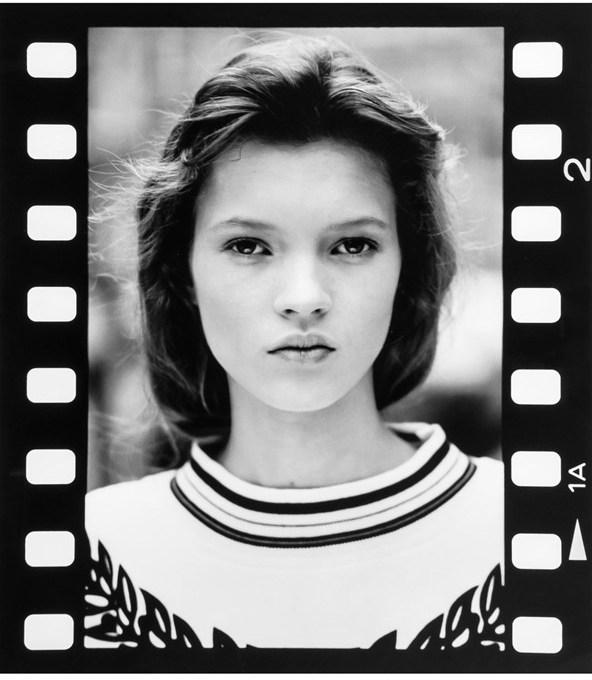 Првата фотосесија на 14-годишната Кејт со Дејвид Рос