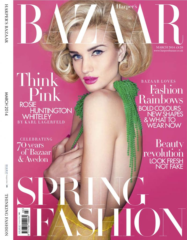 Rosie-Huntington-Whiteley-By-Karl-Lagerfeld-for-Harpers-Bazaar-UK-March-2014