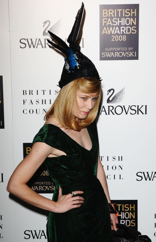 British Fashion Awards 2008: Arrivals
