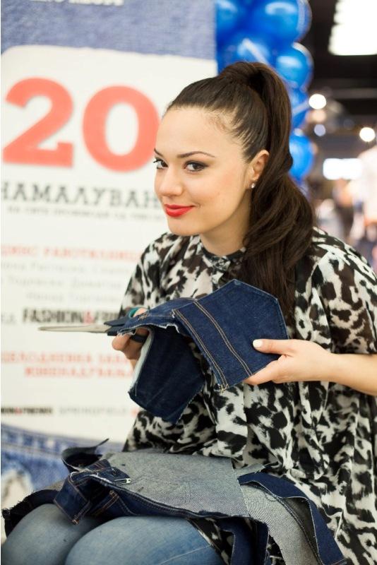 Елена Ристеска беше дел од креативната работилница Jeans Corner