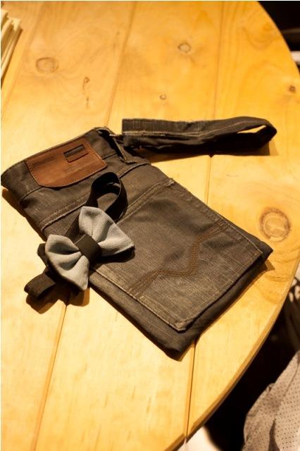 Креации од стари фармерки во изведба на студентите од ЕУРМ