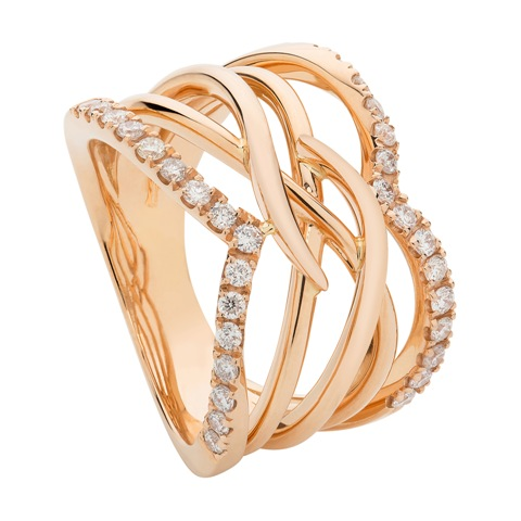 Vita Vitae Spiral Band Ring