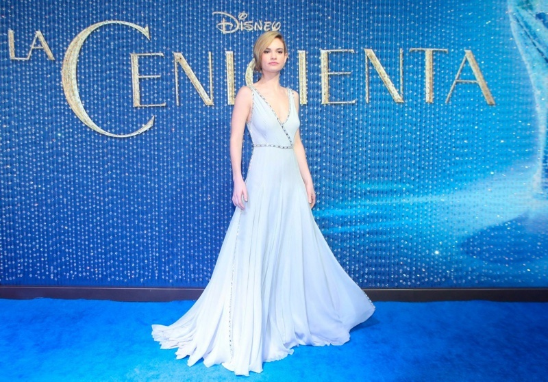 lily-james-blue-prada-dress-cinderella-event
