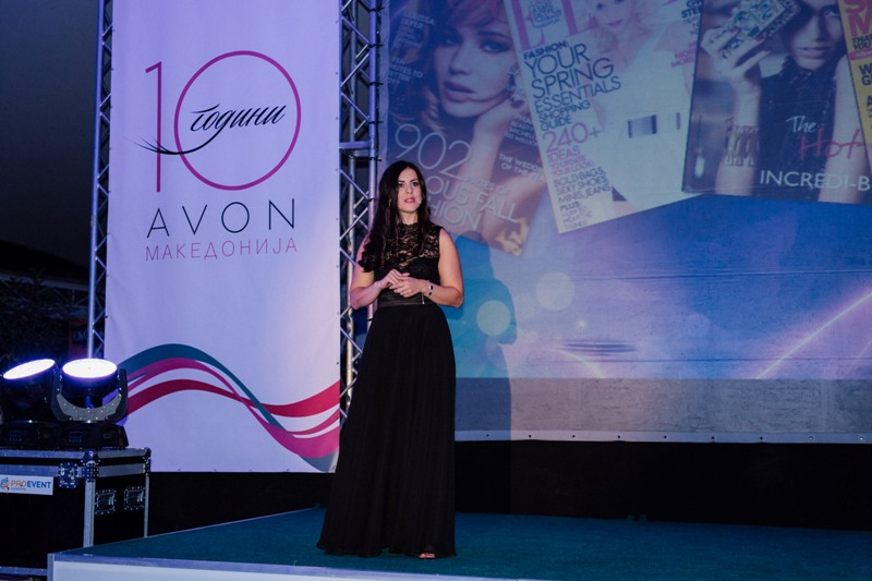 Dana Stojkova, nacionalen menadzer na prodazhba vo AVON Makedonija