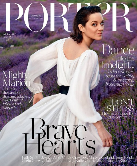 Marion-Cotillard-PORTER-Magazine-Winter-2015-Cover