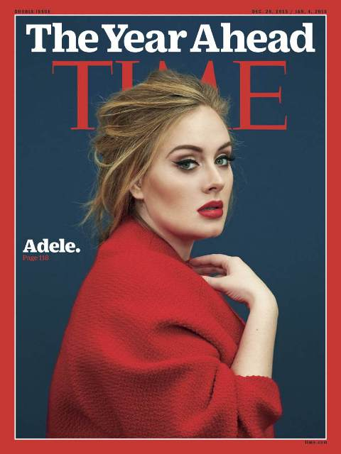 adele time magazine