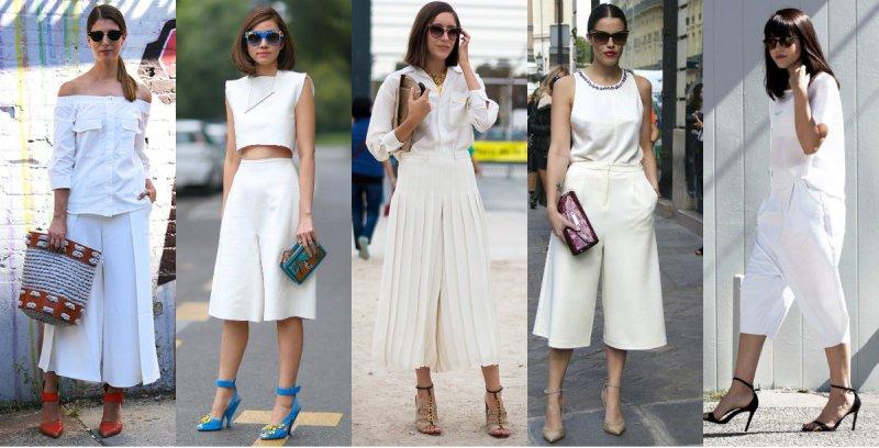 pantaloni bela kombinacija