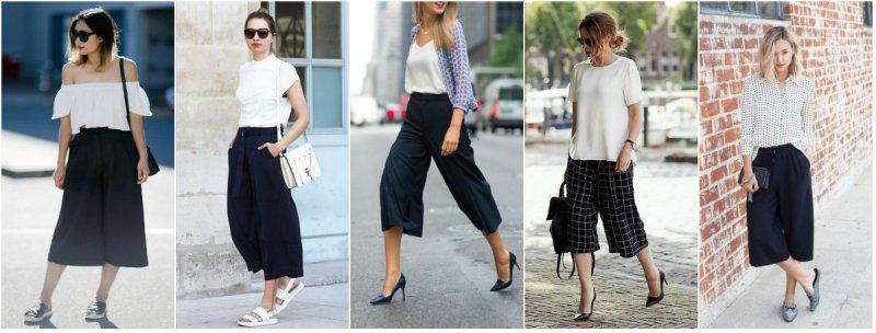 pantaloni crna klasika