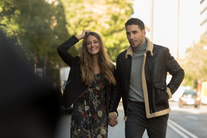 Miguel Angel Silvestre y Andrea Molina-Making Of SPF 1-Pic by Gerard Estadella