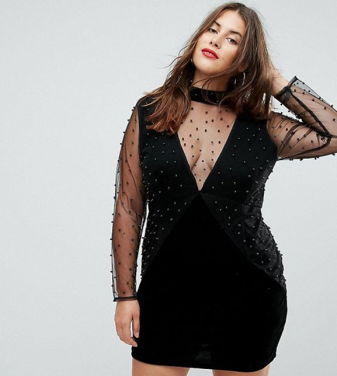 plus size holiday dresses (4)