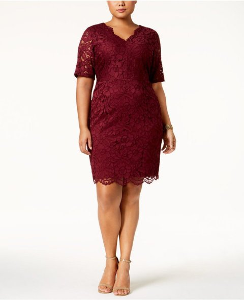 plus size holiday dresses (7)