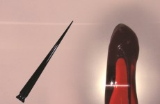 Christian-Louboutin-Colour-Rouge-David-Lynch-video-still-at-saks