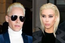 jared-leto-kim-kardashian-blond