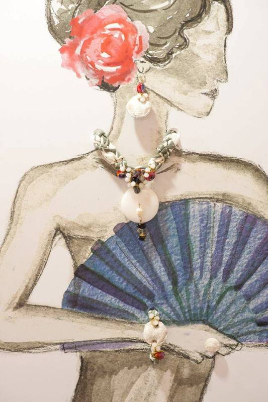 Yana's Jewellery - collection Colores del Flamenco