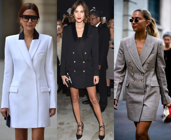3 tuxedo dress