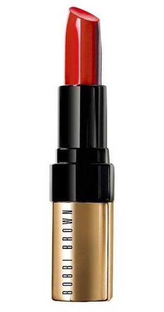 Luxe Lip Colour, £27, Bobbi Brown retro red