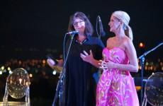 Мира Гаќина, директорка на МСУ и Олга Костовска, Еуролинк