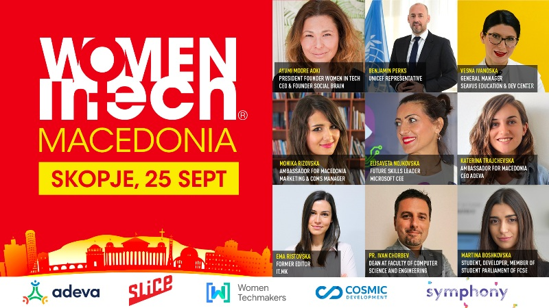 Women in Tech Macedonia Chapter Launch