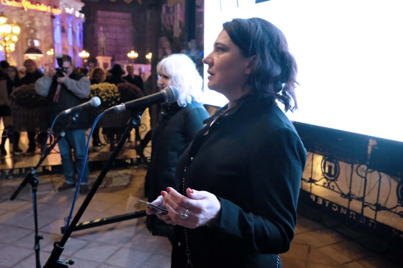 Arhitektkata Iskra Jankovska Mihajlovska i modnata dizajnerka i profesor Lidija Georgieva, del od osnovacite na festivalot