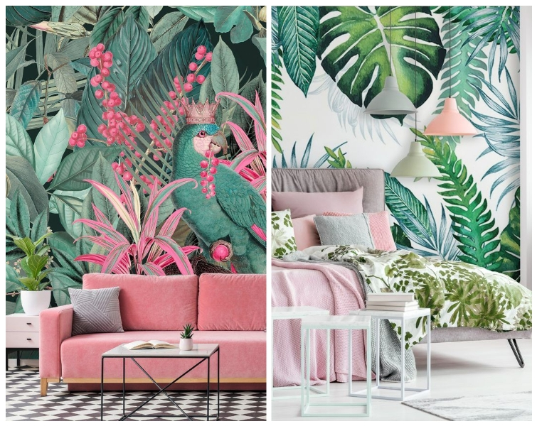 1 tropski dekor