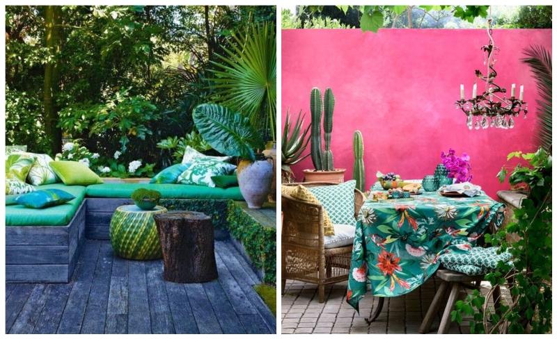 5 tropski dekor