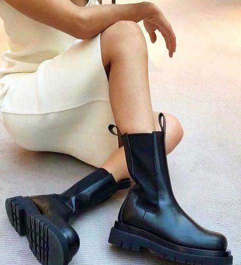 2 Bottega Veneta-Boots